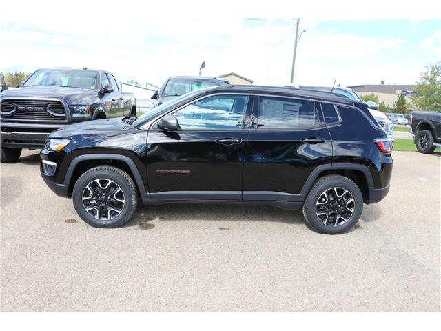 2021 Jeep Compass Trailhawk (Stk: MT155) in Rocky Mountain House - Image 1 of 11