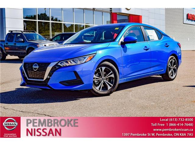 2021 Nissan Sentra SV (Stk: 21162) in Pembroke - Image 1 of 30