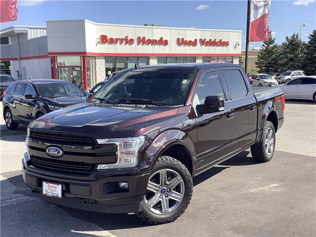 2018 Ford F-150 Lariat (Stk: 11-21422A) in Barrie - Image 1 of 24