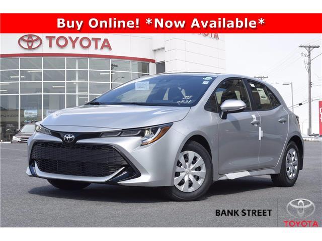 2022 Toyota Corolla Hatchback Base (Stk: 19-29509) in Ottawa - Image 1 of 24