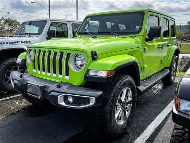2021 Jeep Wrangler Unlimited Sahara (Stk: N21340) in Grimsby - Image 1 of 7