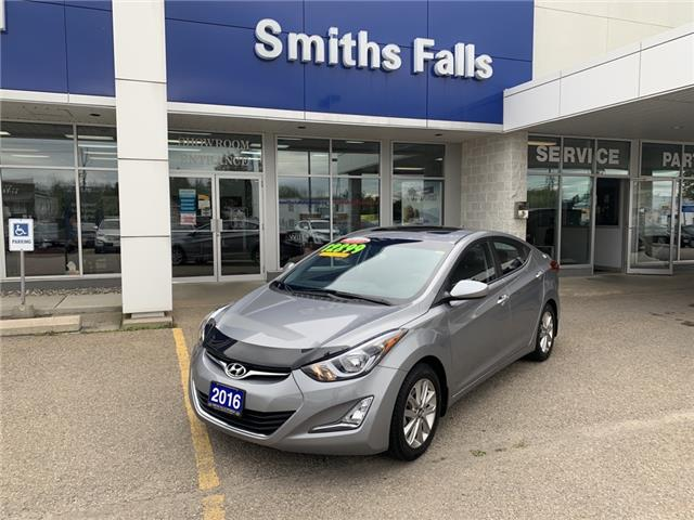2016 Hyundai Elantra Sport Appearance (Stk: 104341) in Smiths Falls - Image 1 of 11