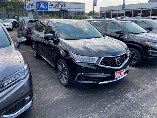 2018 Acura MDX Navigation Package (Stk: 800797AP) in Mississauga - Image 1 of 2