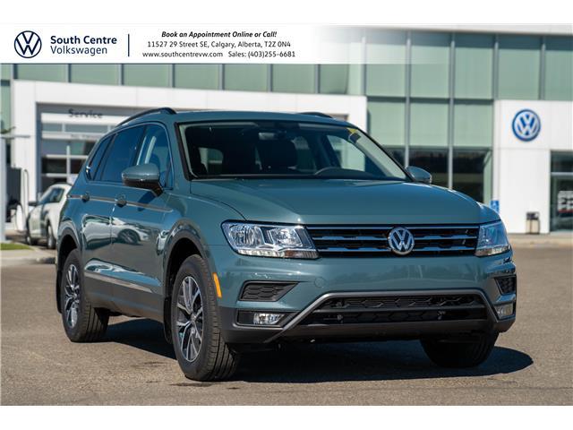 2021 Volkswagen Tiguan Comfortline (Stk: 10386) in Calgary - Image 1 of 42