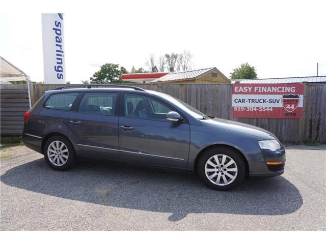 2010 Volkswagen Passat Wagon  WVWLK9AN9AE105226 V105226 in Brantford
