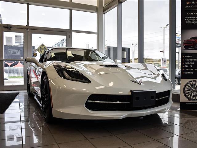 2017 Chevrolet Corvette 2dr Stingray Cpe w-1LT, GT SEATS, 455HP,  6.2 V8 (Stk: PR5462) in Milton - Image 1 of 18