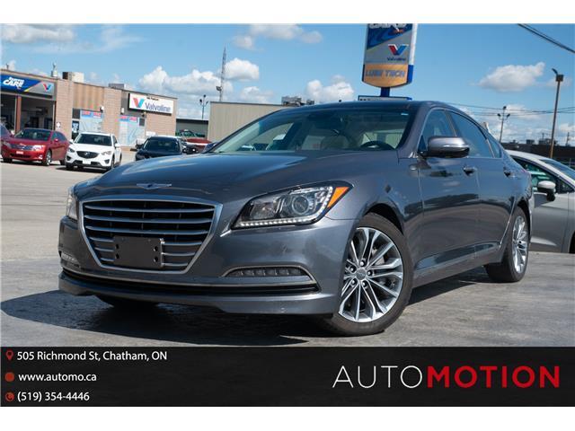 2016 Hyundai Genesis  (Stk: 211642) in Chatham - Image 1 of 26