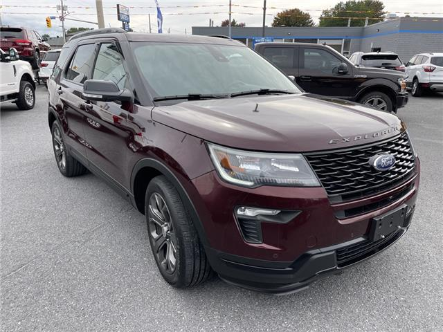 2018 Ford Explorer Sport (Stk: 21238A) in Cornwall - Image 1 of 29