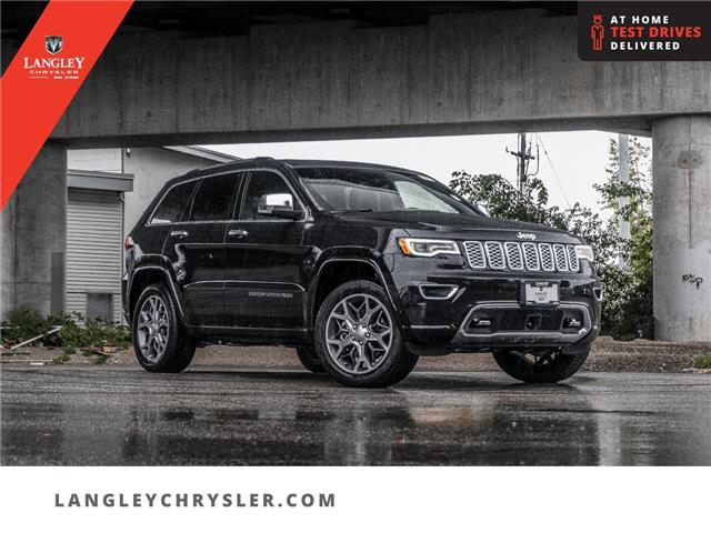 2021 Jeep Grand Cherokee Overland (Stk: M745917) in Surrey - Image 1 of 24