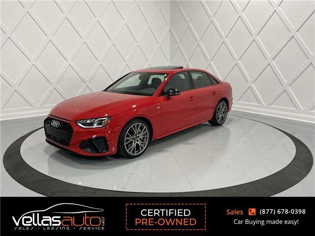 2020 Audi A4 2.0T Progressiv (Stk: NP3865) in Vaughan - Image 1 of 30