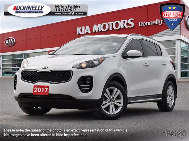 2017 Kia Sportage LX (Stk: KU2572) in Kanata - Image 1 of 28