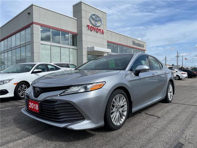 2018 Toyota Camry XLE (Stk: 164110A) in Woodstock - Image 1 of 24