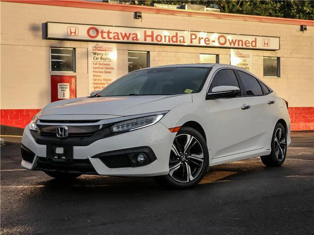 2018 Honda Civic Touring (Stk: 347551) in Ottawa - Image 1 of 28