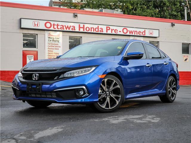 2020 Honda Civic Touring (Stk: H92650) in Ottawa - Image 1 of 29