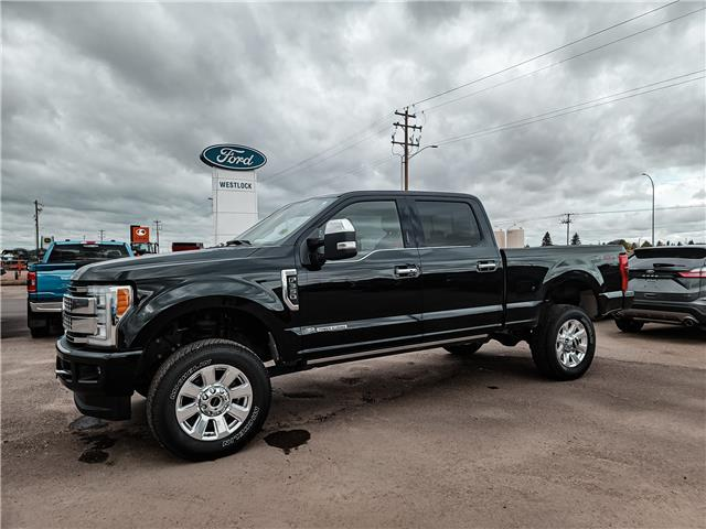 2018 Ford F-350 Platinum (Stk: 21137A) in Westlock - Image 1 of 13