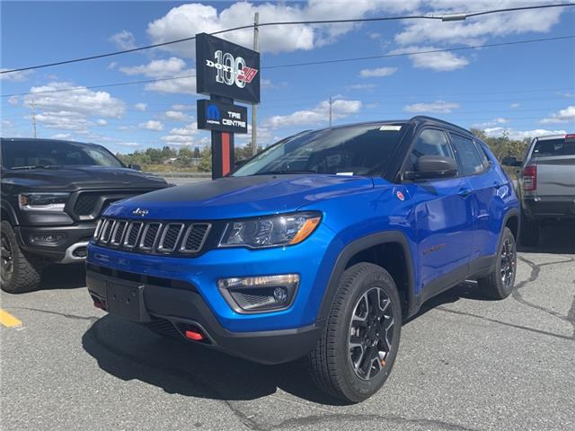 2021 Jeep Compass Trailhawk (Stk: 7157) in Sudbury - Image 1 of 15