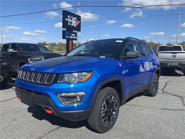 2021 Jeep Compass Trailhawk (Stk: 7156) in Sudbury - Image 1 of 17