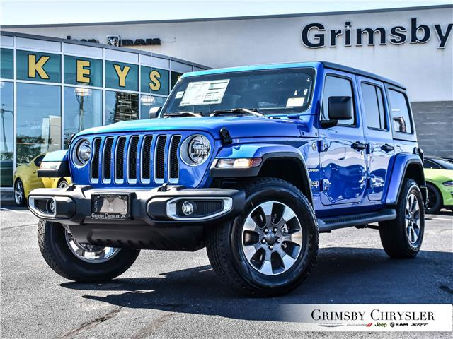 2021 Jeep Wrangler Unlimited Sahara (Stk: N21341) in Grimsby - Image 1 of 33