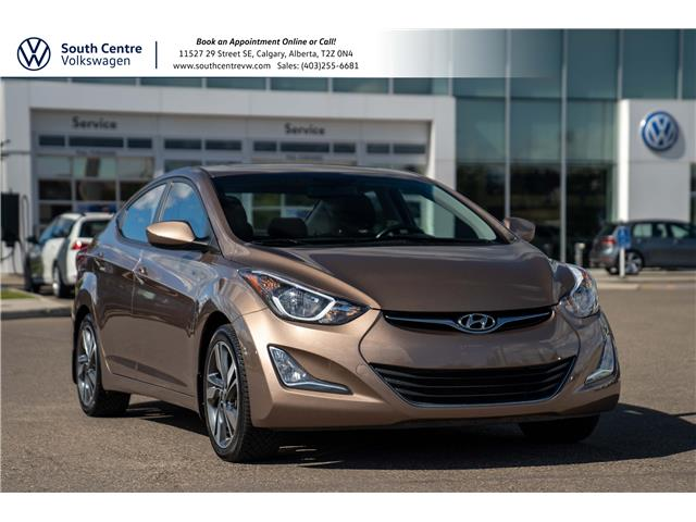 2015 Hyundai Elantra GLS (Stk: U6791) in Calgary - Image 1 of 35