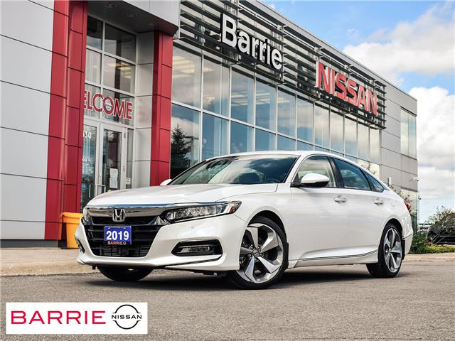 2019 Honda Accord Touring 1.5T (Stk: 21491A) in Barrie - Image 1 of 30