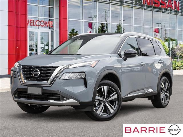 2021 Nissan Rogue Platinum (Stk: 21374) in Barrie - Image 1 of 23