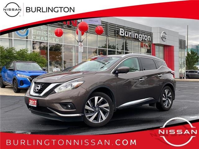 2017 Nissan Murano Platinum (Stk: B3191A) in Burlington - Image 1 of 23