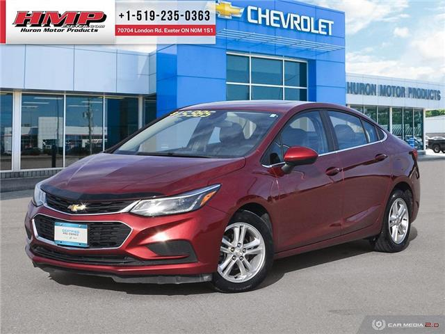 2018 Chevrolet Cruze LT Auto (Stk: 91596) in Exeter - Image 1 of 27