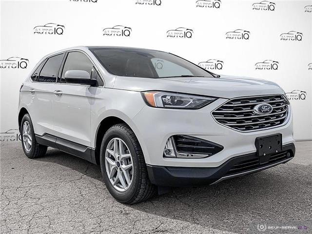 2021 Ford Edge SEL (Stk: S1496) in St. Thomas - Image 1 of 26