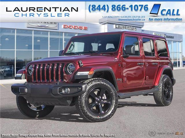 2021 Jeep Wrangler Unlimited Sahara (Stk: 21408) in Greater Sudbury - Image 1 of 23