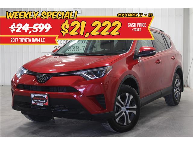 2017 Toyota RAV4 LE (Stk: W148467A) in Winnipeg - Image 1 of 24