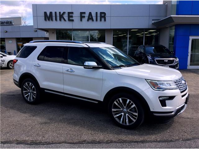 2018 Ford Explorer Platinum (Stk: P4382A) in Smiths Falls - Image 1 of 15