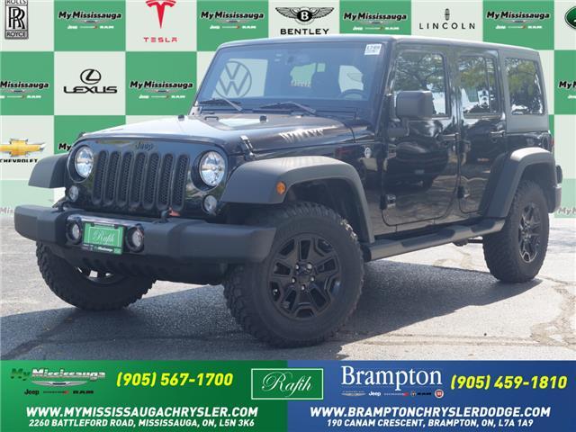 2018 Jeep Wrangler JK Unlimited Sport (Stk: 1749) in Mississauga - Image 1 of 20