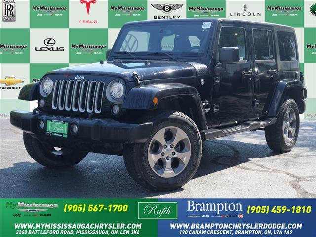 2018 Jeep Wrangler JK Unlimited Sahara (Stk: 21151A) in Mississauga - Image 1 of 21