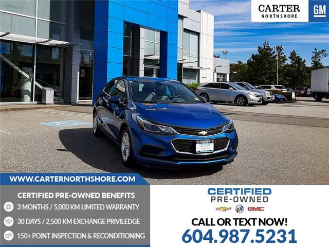 2018 Chevrolet Cruze LT Auto (Stk: 976050) in North Vancouver - Image 1 of 28