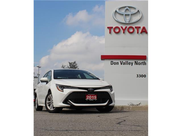 2019 Toyota Corolla Hatchback Base (Stk: 10U1124) in Markham - Image 1 of 1