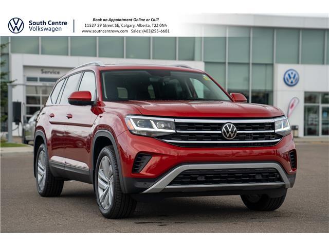 2021 Volkswagen Atlas 3.6 FSI Highline (Stk: 10076A) in Calgary - Image 1 of 44