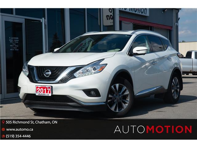 2017 Nissan Murano  (Stk: 211697) in Chatham - Image 1 of 25