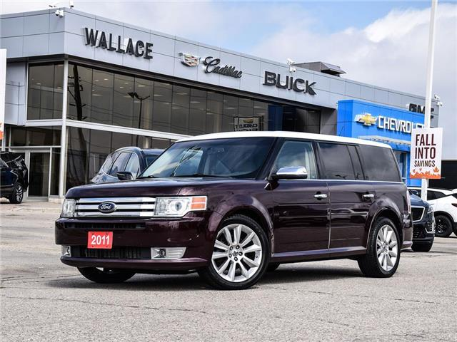 2011 Ford Flex Limited AWD w-EcoBoost SUNROOF, NAV, LEATHER (Stk: 359731B) in Milton - Image 1 of 25
