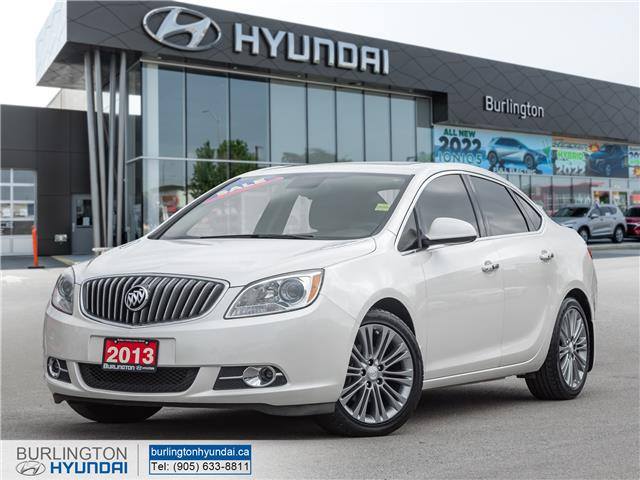 2013 Buick Verano Leather Package 1G4PS5SKXD4205307 D2664A in Burlington