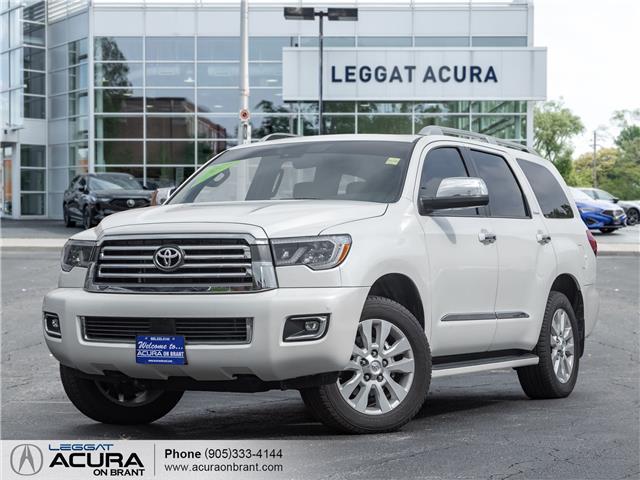 2020 Toyota Sequoia Platinum (Stk: 22011A) in Burlington - Image 1 of 28