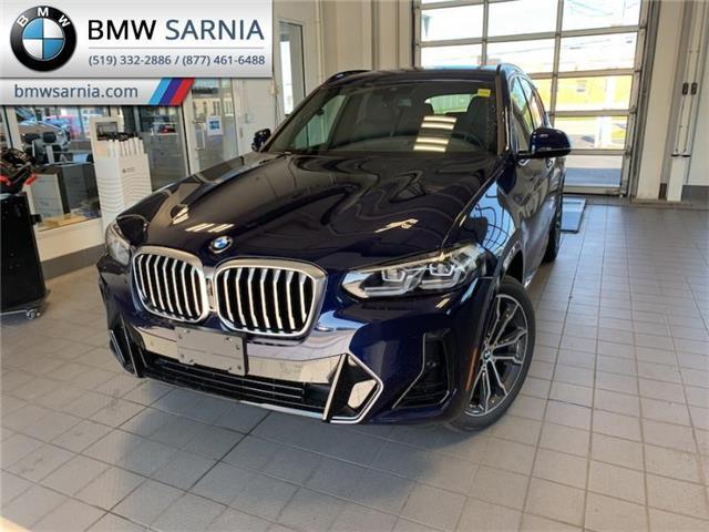 2022 BMW X3 xDrive30i (Stk: BF2203) in Sarnia - Image 1 of 11