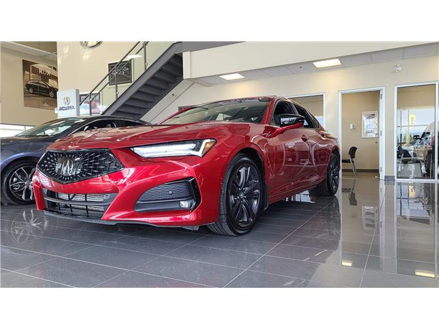 2021 Acura TLX A-Spec (Stk: A4570) in Saskatoon - Image 1 of 18