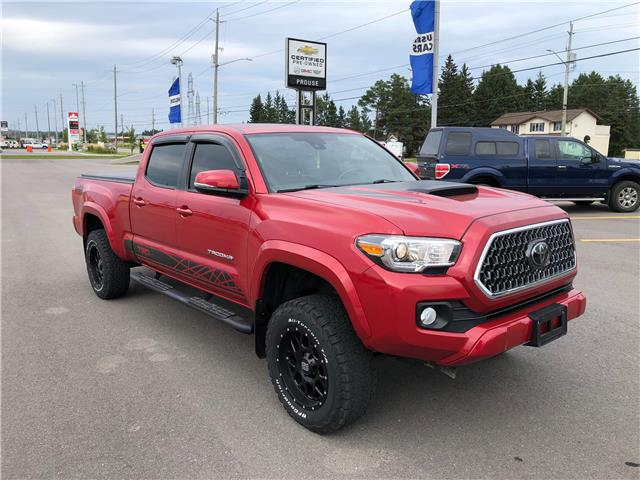 2018 Toyota Tacoma SR5 (Stk: 4235-21AA) in Sault Ste. Marie - Image 1 of 12