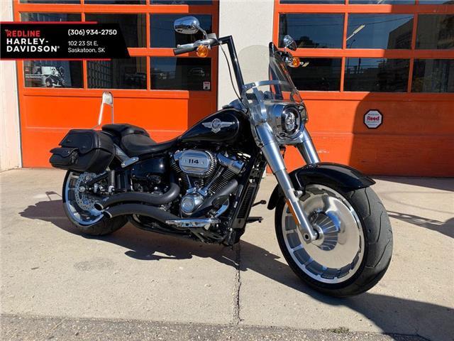 2019 Harley-Davidson FLFBS - Softail® Fat Boy® 114  (Stk: FLFBS-19-5443) in Saskatoon - Image 1 of 9