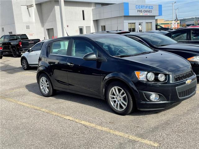 2013 Chevrolet Sonic 5dr HB LT Auto, SUNROOF, CRUISE CONTROL, AC (Stk: PR5487) in Milton - Image 1 of 1