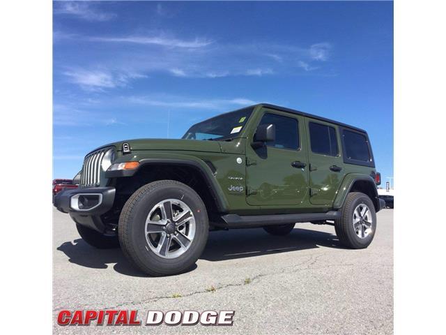 2021 Jeep Wrangler Unlimited Sahara (Stk: M00660) in Kanata - Image 1 of 27