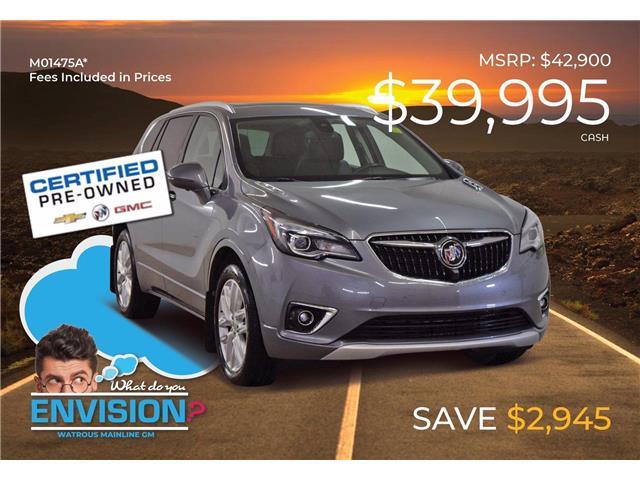 2019 Buick Envision Premium II LRBFX4SX0KD128157 M01475A in Watrous