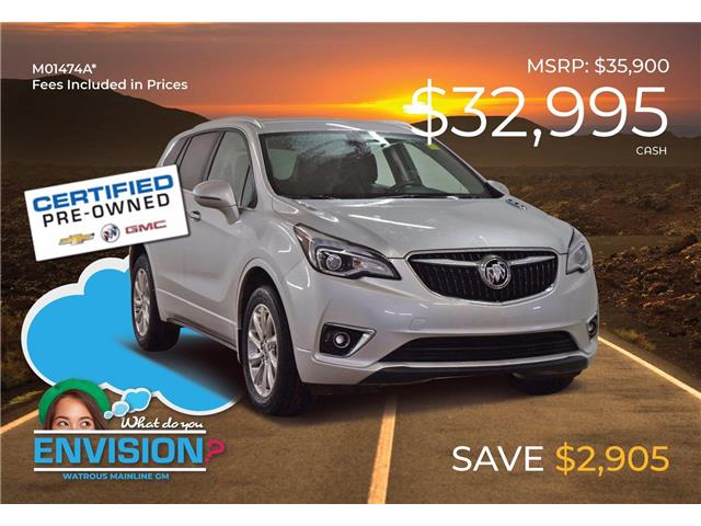 2019 Buick Envision Essence LRBFX2SA6KD072581 M01474A in Watrous