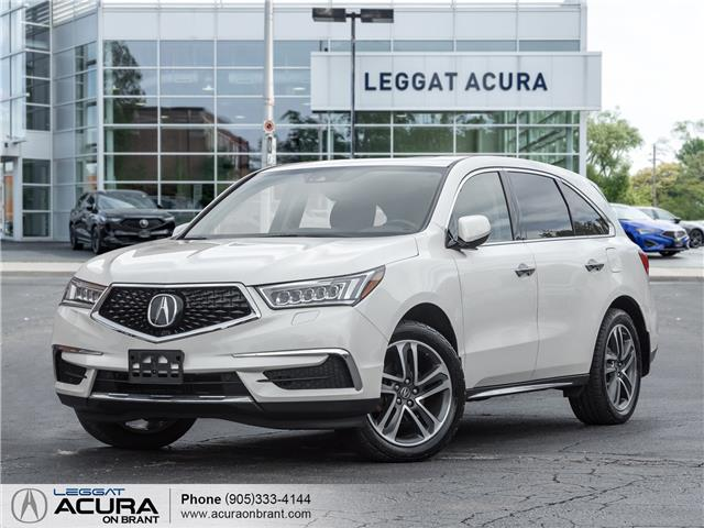 2017 Acura MDX Technology Package (Stk: 4547) in Burlington - Image 1 of 28