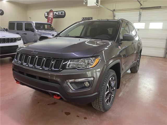 2021 Jeep Compass Trailhawk (Stk: T21-160) in Nipawin - Image 1 of 19